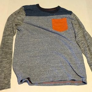 Osh kosh long sleeve tee grey navy large 10